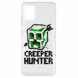 Чехол для Samsung A51 Creeper Hunter