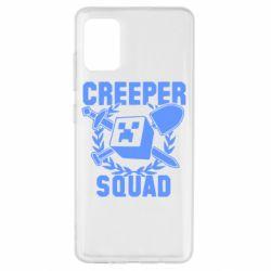 Чохол для Samsung A51 Creeper Squad