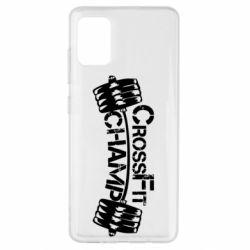 Чехол для Samsung A51 CrossFit Champ