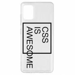Чохол для Samsung A51 CSS is awesome