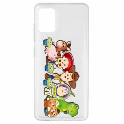 Чохол для Samsung A51 Cute characters toy story