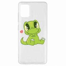 Чохол для Samsung A51 Cute dinosaur