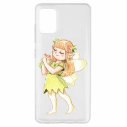 Чохол для Samsung A51 Cute Fairy in watercolor style