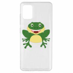 Чехол для Samsung A51 Cute toad