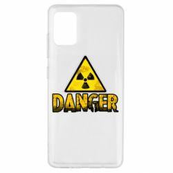Чохол для Samsung A51 Danger icon