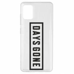 Чехол для Samsung A51 Days Gone color logo