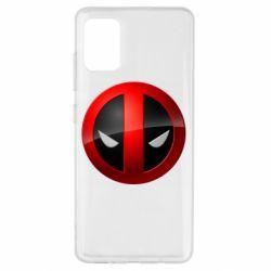 Чехол для Samsung A51 Deadpool Logo