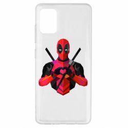 Чохол для Samsung A51 Deadpool Love