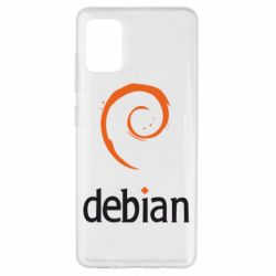 Чехол для Samsung A51 Debian