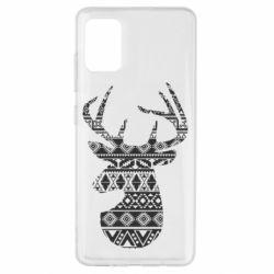 Чохол для Samsung A51 Deer from the patterns