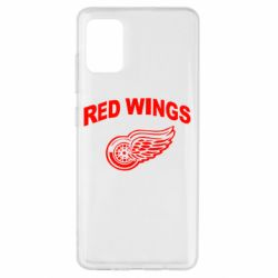 Чохол для Samsung A51 Detroit Red Wings
