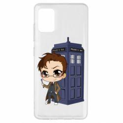 Чохол для Samsung A51 Doctor who is 10 season2