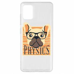 Чехол для Samsung A51 Dog Physicist