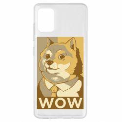 Чохол для Samsung A51 Doge wow meme