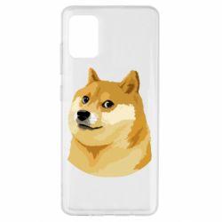 Чохол для Samsung A51 Doge