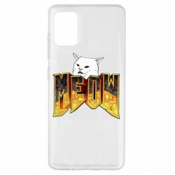 Чехол для Samsung A51 Doom меов cat