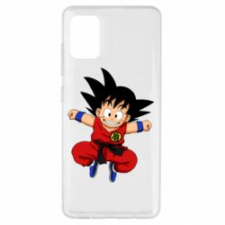 Чохол для Samsung A51 Dragon ball Son Goku