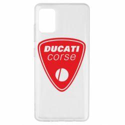 Чехол для Samsung A51 Ducati Corse