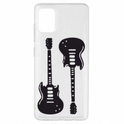 Чохол для Samsung A51 Дві гітари