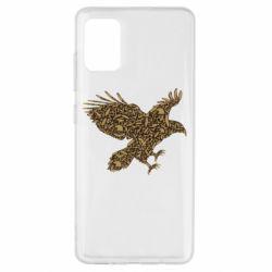Чехол для Samsung A51 Eagle feather