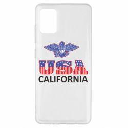 Чехол для Samsung A51 Eagle USA
