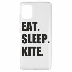 Чохол для Samsung A51 Eat, sleep, kite