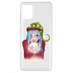 Чехол для Samsung A51 Elf girl