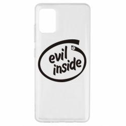 Чехол для Samsung A51 Evil Inside