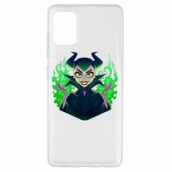 Чехол для Samsung A51 Evil Maleficent