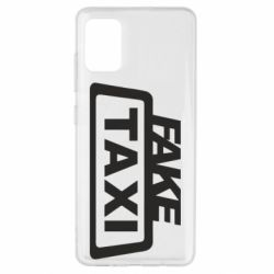 Чохол для Samsung A51 Fake Taxi