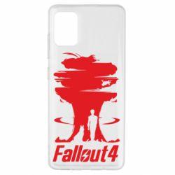Чехол для Samsung A51 Fallout 4 Art