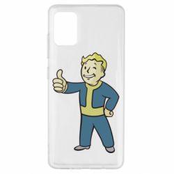 Чехол для Samsung A51 Fallout Boy