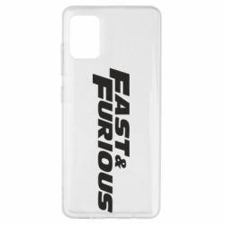 Чохол для Samsung A51 Fast & Furious