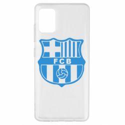 Чехол для Samsung A51 FC Barcelona