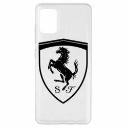 Чохол для Samsung A51 Ferrari horse