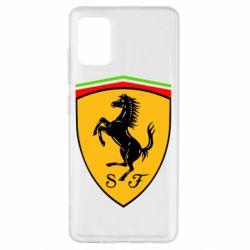 Чехол для Samsung A51 Ferrari