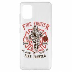 Чохол для Samsung A51 Fire Fighter