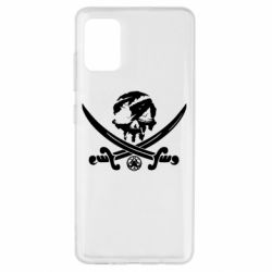 Чохол для Samsung A51 Flag pirate
