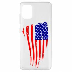 Чохол для Samsung A51 Прапор США
