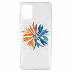 Чохол для Samsung A51 Flower coat of arms of Ukraine