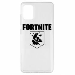 Чехол для Samsung A51 Fortnite and llama