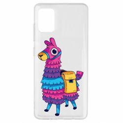 Чехол для Samsung A51 Fortnite colored llama