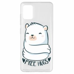 Чохол для Samsung A51 Free hugs bear