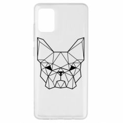 Чехол для Samsung A51 French Bulldog Art