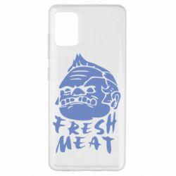Чехол для Samsung A51 Fresh Meat Pudge