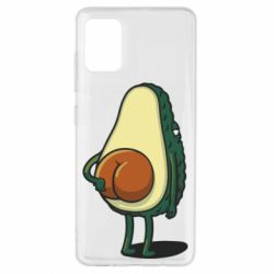 Чохол для Samsung A51 Funny avocado