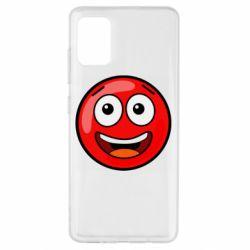 Чохол для Samsung A51 Funny Red Ball