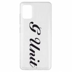 Чехол для Samsung A51 G Unit