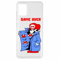 Чехол для Samsung A51 Game Over Mario