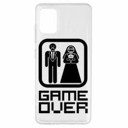 Чехол для Samsung A51 Game Over